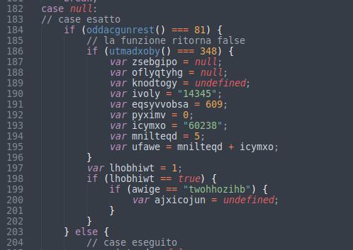 Rumore del codice
